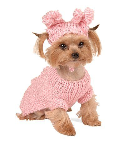 Pink Dog Sweaters